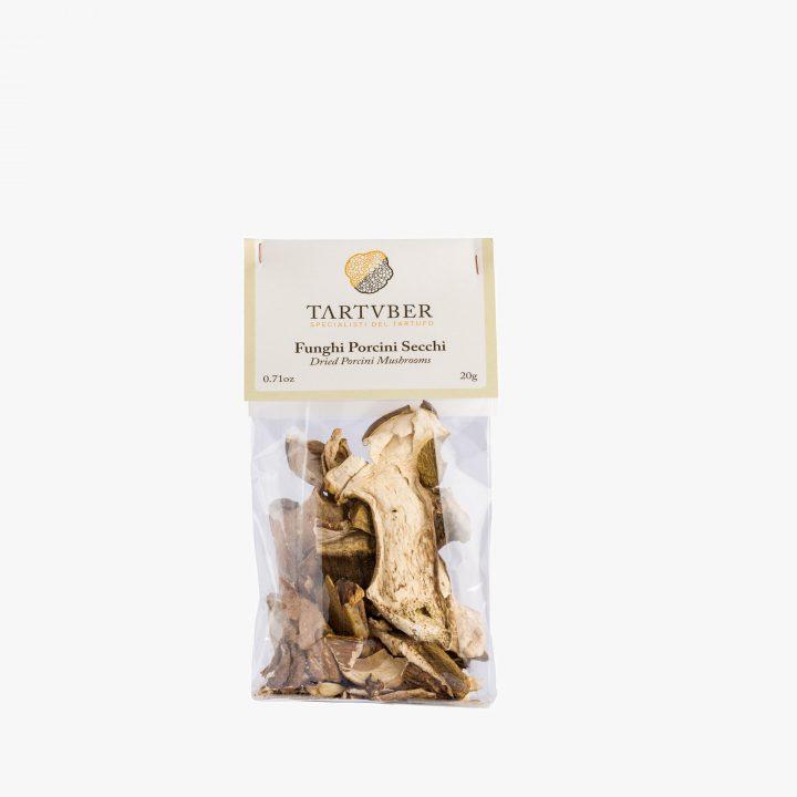 Dried Porcini Mushrooms - Tartuber