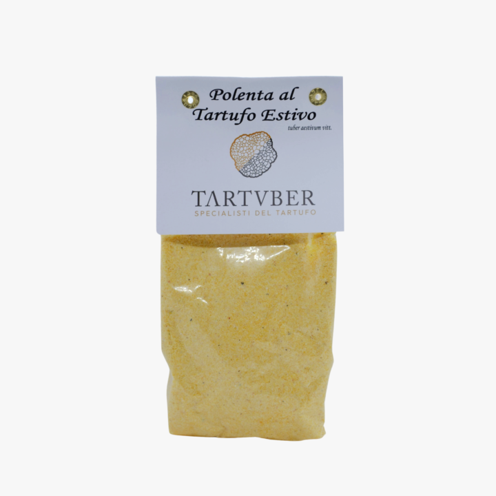 Polenta istantanea aromatizzata al tartufo estivo